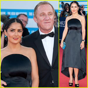 Salma Hayek: Deauville Closing Ceremony!