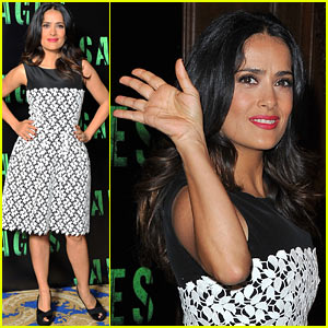 Salma Hayek: 'Savages' Photo Call in Paris!