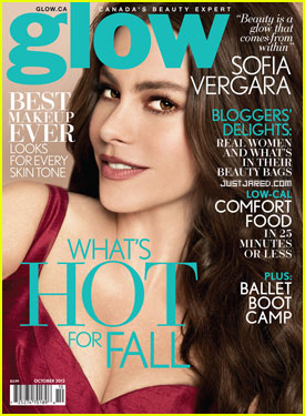 Sofia Vergara Covers 'Glow' Magazine!