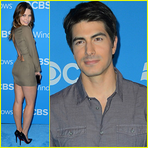 Sophia Bush & Brandon Routh: CBS Fall Premiere Party!