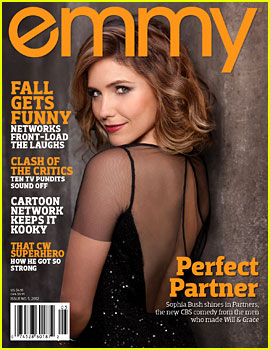 Sophia Bush Covers 'Emmy' Magazine