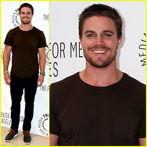 Stephen Amell: 'Arrow' Screening at Paley Center!