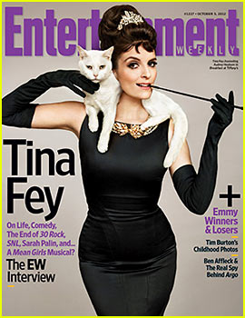 Tina Fey Channels Audrey Hepburn on 'EW' Cover