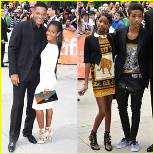 Will Smith: 'Free Angela & All Political Prisoners' Premiere with Family!