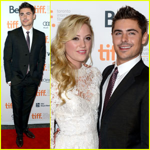 Zac Efron: 'At Any Price' TIFF Premiere with Maika Monroe!