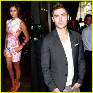 Zac Efron & Nina Dobrev: Hollywood Reporter TIFF Video Lounge