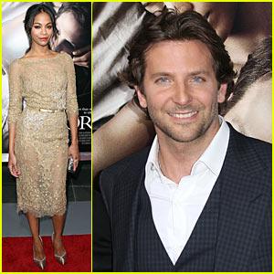 Zoe Saldana: 'The Words' Premiere with Bradley Cooper!