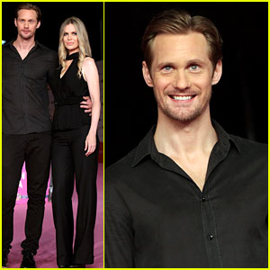 Alexander Skarsgard & Kristin Bauer: 'True Blood' at RomaFictionFest!