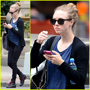Amanda Seyfried: Big Apple Beauty Break!