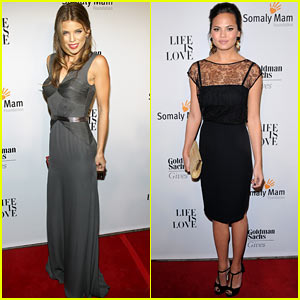 AnnaLynne McCord &#038; Chrissy Teigen: Somaly Mam Foundation Gala!