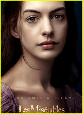 Anne Hathaway: New 'Les Miserables' Posters!