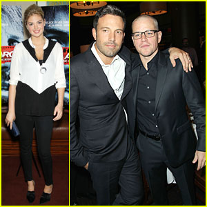 Ben Affleck & Matt Damon: 'Argo' New York Premiere!
