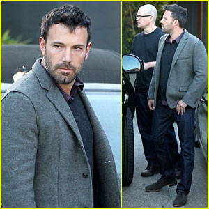 Ben Affleck & Matt Damon: Business Meeting Buddies!