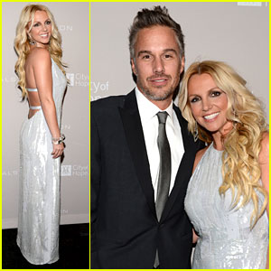 Britney Spears: City of Hope Gala with Jason Trawick!