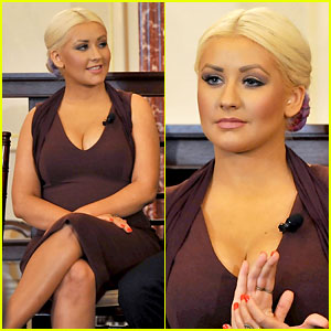 Christina Aguilera: George McGovern Award Ceremony!