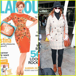 Christina Hendricks: 'Glamour UK' Cover Girl!