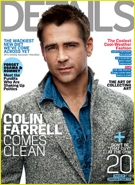 Colin Farrell Covers 'Details' November 2012