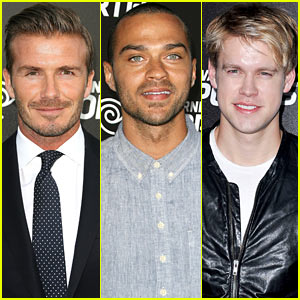 David Beckham & Jesse Williams: Time Warner SportsNet Launch