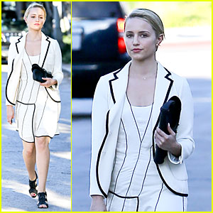 Dianna Agron: Nothing Like Bopping Around Europe With Friends!
