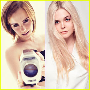 Emma Watson & Elle Fanning: 'Elle' Women in Hollywood Feature!