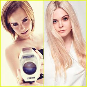 Emma Watson & Elle Fanning: 'Elle' Women in Hollywood Feature!