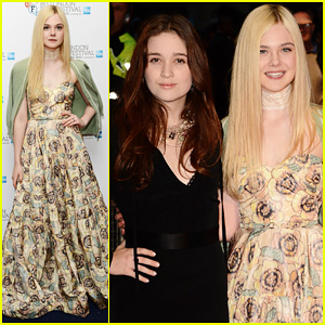 Elle Fanning: 'Ginger & Rosa' London Premiere!