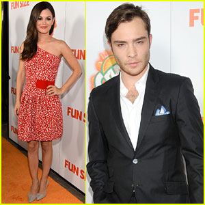 Rachel Bilson &#038; Ed Westwick: 'Fun Size' Premiere!
