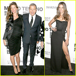 Gisele Bundchen &#038; Alessandra Ambrosio: Mario Testino Event!