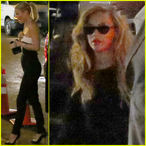Gwyneth Paltrow: Late Birthday Dinner with Beyonce!