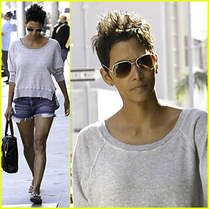 Halle Berry: 'Cloud Atlas' Make-Up Required Early Start Day!
