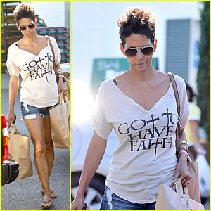 Halle Berry Has Got To Have Faith!