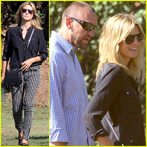 Heidi Klum & Martin Kirsten: Henry's Soccer Game with the Family!