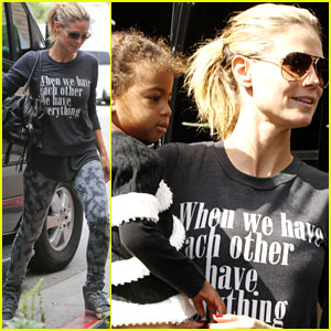 Heidi Klum: Sunday Fun with the Kids!