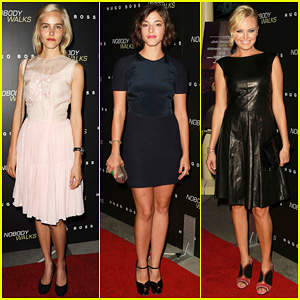 Isabel Lucas & Olivia Thirlby: 'Nobody Walks' Premiere!