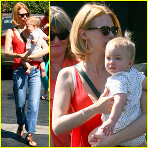 January Jones: Shoe Shopping with Xander!