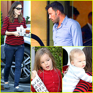 Jennifer Garner: Breakfast To-Go with Seraphina & Samuel