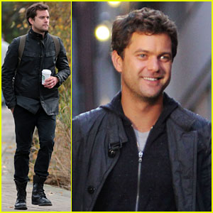 Joshua Jackson: 'Fringe' Set with Anna Torv!