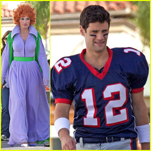 Justin Bartha & Ellen Barkin: 'New Normal' Halloween Episode!