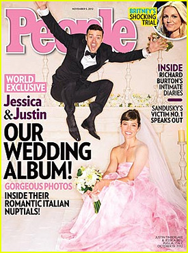 Justin Timberlake & Jessica Biel: Wedding Picture Revealed! | Jessica