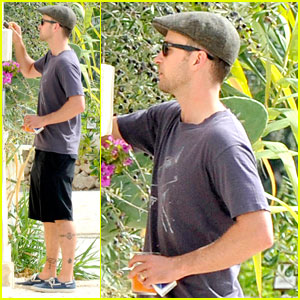 Justin Timberlake: Wedding Ring First Look!