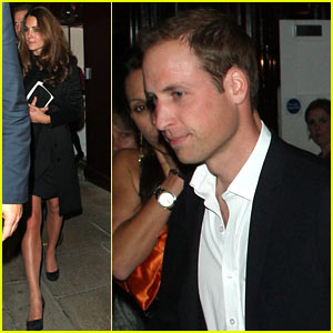 Duchess Kate & Prince William: Member's Club Date Night!
