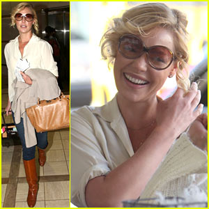 Katherine Heigl: 'Happy To Be Home' in Utah!