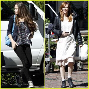 Kristen Wiig & Hailee Steinfeld: 'Hateship, Friendship' Set!