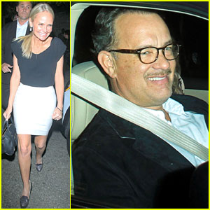 Kristin Chenoweth &#038; Tom Hanks Attend Rita Wilson's Concert