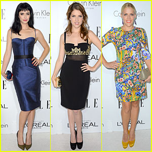 Krysten Ritter & Anna Kendrick - Elle Women in Hollywood 2012
