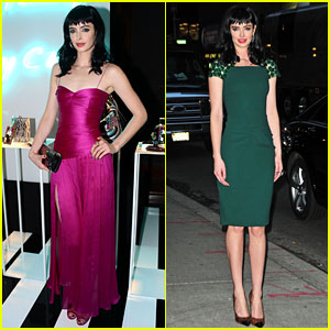 Krysten Ritter: Jimmy Choo Collection Launch!