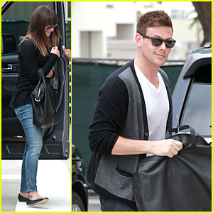 Lea Michele & Cory Monteith Shopping Together!