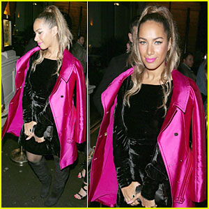 Leona Lewis: Mahiki Nightclub in London!