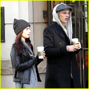 Lily Collins & Jamie Campbell Bower: Toronto Twosome!