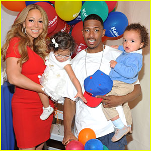 Mariah Carey, Monroe Cannon, Moroccan Cannon, Nick Cannon : Just Jared